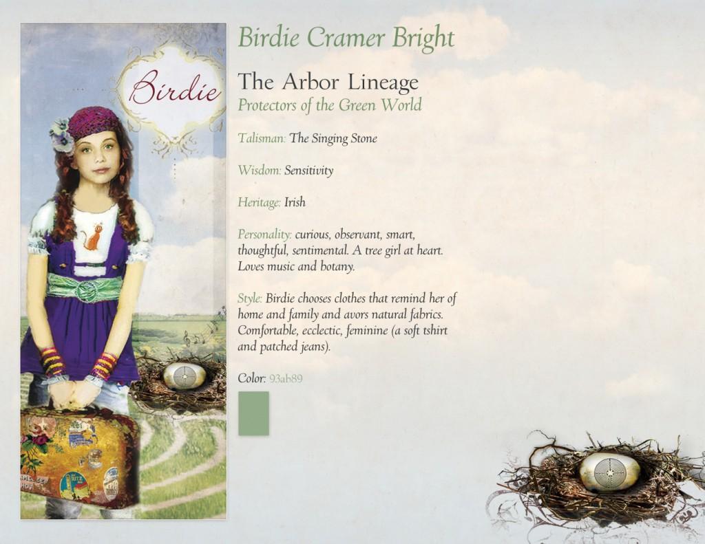 Character Profile - Birdie